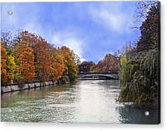 River Colors Acrylic Print by Anthony Citro