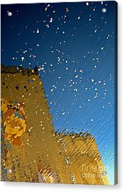 Acrylic Print featuring the photograph River Crossing Border Crossing by Andy Prendy