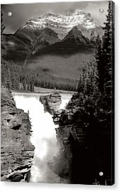 River Fall Part 1 Acrylic Print by Marcin and Dawid Witukiewicz