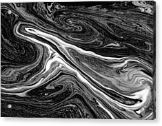 River Foam Acrylic Print