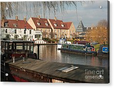 Acrylic Print featuring the photograph River Great Ouse by Andrew  Michael