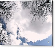 Acrylic Print featuring the photograph River In The Sky by Pamela Hyde Wilson