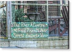 River Mantra Acrylic Print