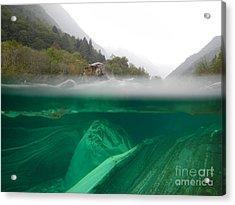 River Acrylic Print by Mats Silvan