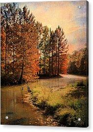 River Of Hope Acrylic Print by Jai Johnson