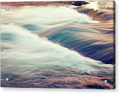 River Rapids Acrylic Print by Isabelle Lafrance Photography