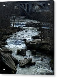 River Rapids Acrylic Print by Melissa Nickle