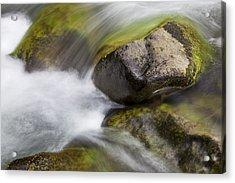 River Rocks II Acrylic Print by Jenna Szerlag