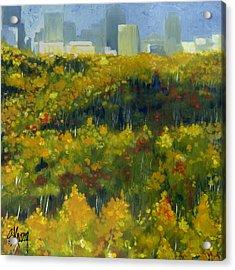 River Valley Yeg Acrylic Print