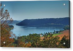 River View IIi Acrylic Print by Steven Ainsworth
