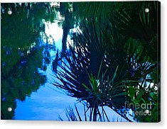 Riverbank Reflections3 Acrylic Print