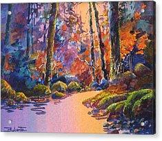 River's Palette Acrylic Print