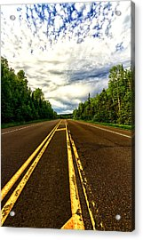 Road To Canada Acrylic Print