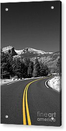 Road To The Rockies Acrylic Print by Holger Ostwald