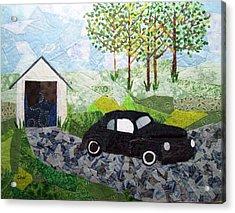 Road Trip Acrylic Print by Charlene White