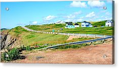 Acrylic Print featuring the photograph Road Trip In Cape Breton Nova Scotia by Joe  Ng