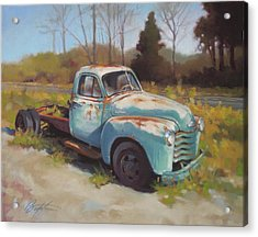 Roadside Relic Acrylic Print by Todd Baxter