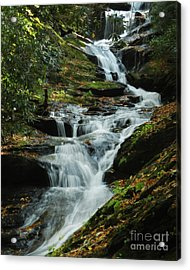 Acrylic Print featuring the photograph Roaring Fork Falls by Deborah Smith