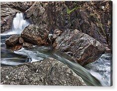 Roaring River Falls Acrylic Print by A A