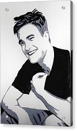 Robert Pattinson 1 Acrylic Print