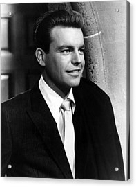 Robert Wagner, 1959 Acrylic Print by Everett