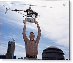 Robotic Helicopter Acrylic Print