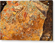 Rock Abstract II Acrylic Print