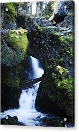 Rock Arch Falls Acrylic Print
