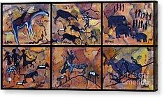 Rock Art Panels  Acrylic Print