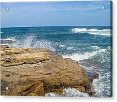 Rock Formation Dunbar Acrylic Print