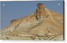 Rock Formations Of Wyoming Acrylic Print by Bruce Bley