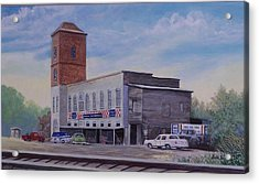 Rock Hill Feed And Supply  Sold Acrylic Print