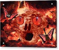 Rock N Hell Acrylic Print by Eric Kempson