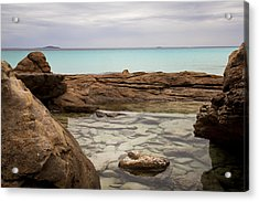 Acrylic Print featuring the photograph Rock Pool by Serene Maisey