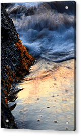Rock Sunset Acrylic Print
