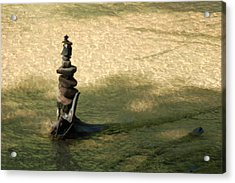 Rock Tower Lake Superior II Acrylic Print