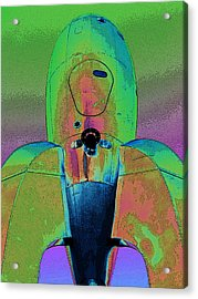 Rocket Ship 3 Acrylic Print
