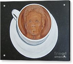 Rockin'coffee Acrylic Print