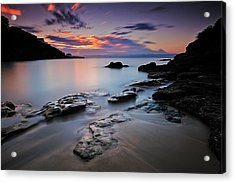Rocks Of Gordon Acrylic Print