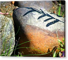 Acrylic Print featuring the photograph Rocks Tattoo by France Laliberte