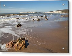 Acrylic Print featuring the photograph Rocky Bay by Shirley Mitchell