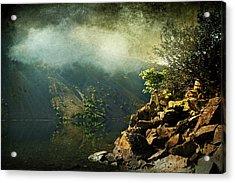 Rocky Hill Acrylic Print by Svetlana Sewell