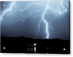 Rocky Mountain Storm  Acrylic Print by James BO  Insogna