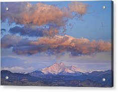 Rocky Mountain Sunrise Acrylic Print by James BO  Insogna