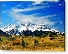 Rocky Mt. High Acrylic Print