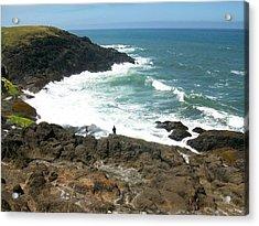 Rocky Ocean Coast Acrylic Print