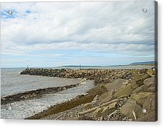Rocky Shore Acrylic Print by Ralph Jones