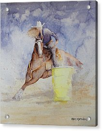Rodeo Gal Two Acrylic Print