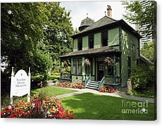 Roedde House Museum Vancouver Canada Acrylic Print by John  Mitchell