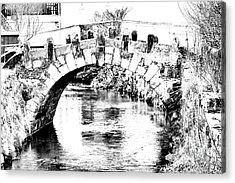 Roeder Bridge Acrylic Print by Bodo Herold